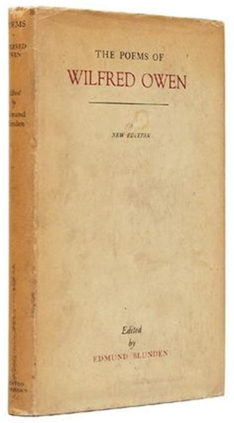 Wilfred owen poems dulce et decorum est essay